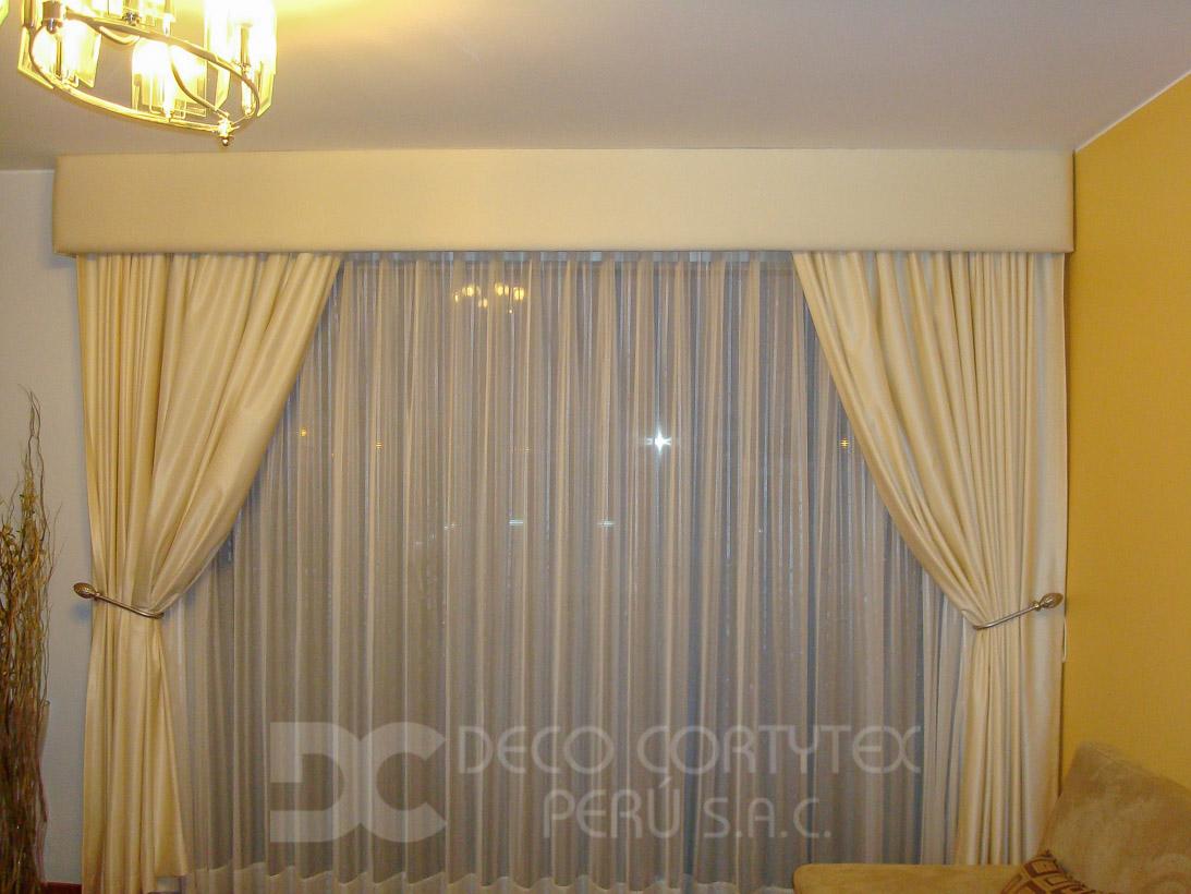 Venta de cortinas en lima cortytex for Modelos de cenefas para cortinas