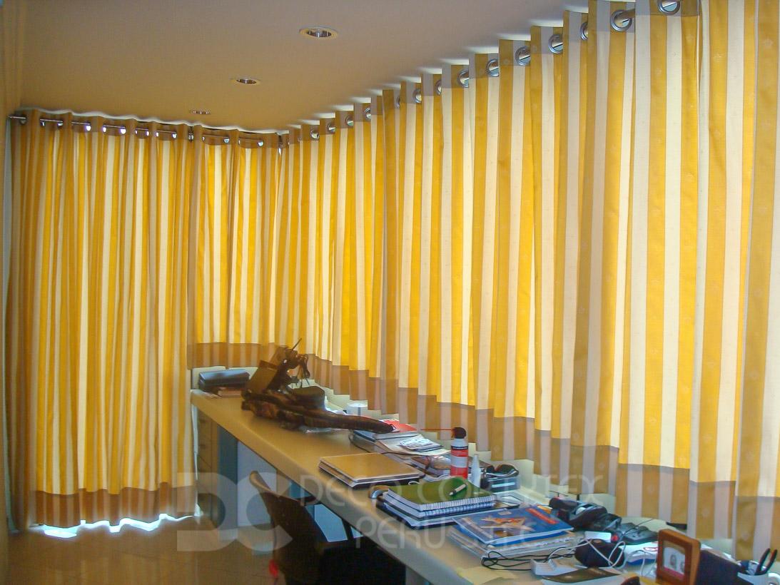 Cortinas 04 - Barra y ojales de acero