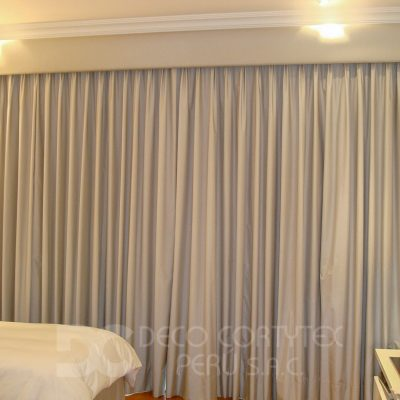 Cortinas 07 - Cortina en Blackout gris