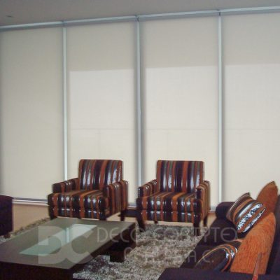 Rollers screen 11 - Roller screen 3% blanco
